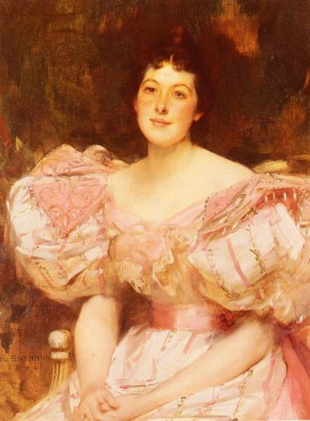 Shannon Sir James Jebusa Portrait Of A Lady